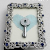 Key to My Heart Mini Frame