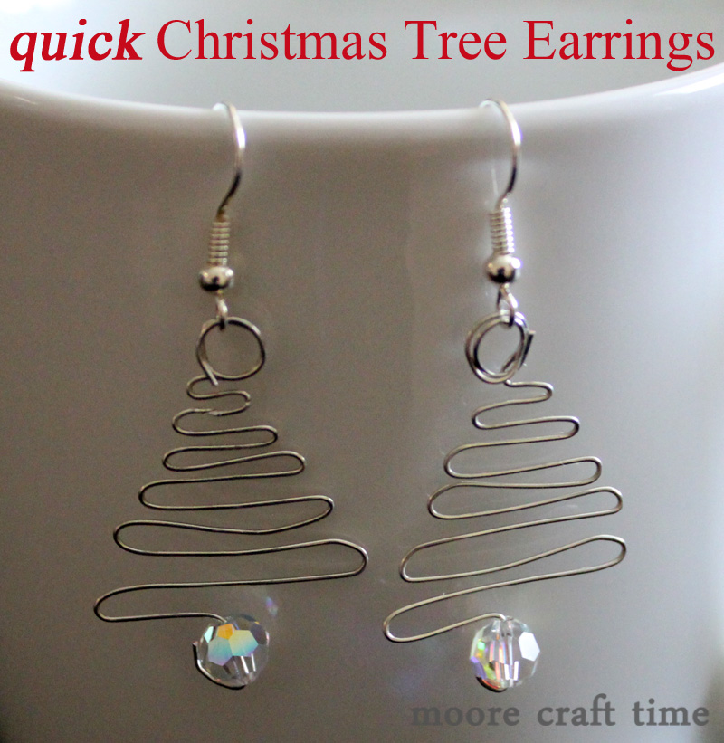 Quick Christmas Tree Earrings 30 Minute Crafts