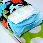 Crazy Little Projects Diaper and Wipes Pouch