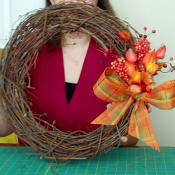 Fast Fall Wreath feature picture