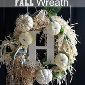 TTJ Hula Skirt to Fall Wreath