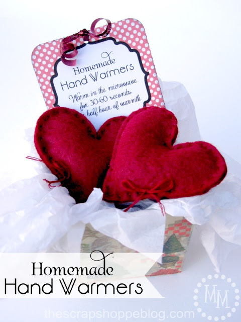 Homemade Hand Warmers The Scrap Shoppe Blog