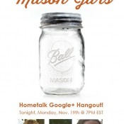 Last Minute Decorating with Mason Jars