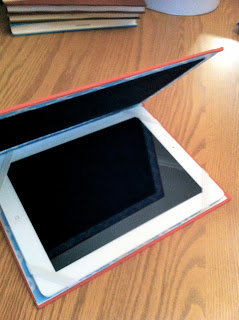 Upcycled ipad cover - Decorella