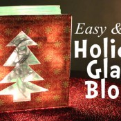 Holiday Glass Block
