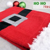Santa Suit Hand Towel