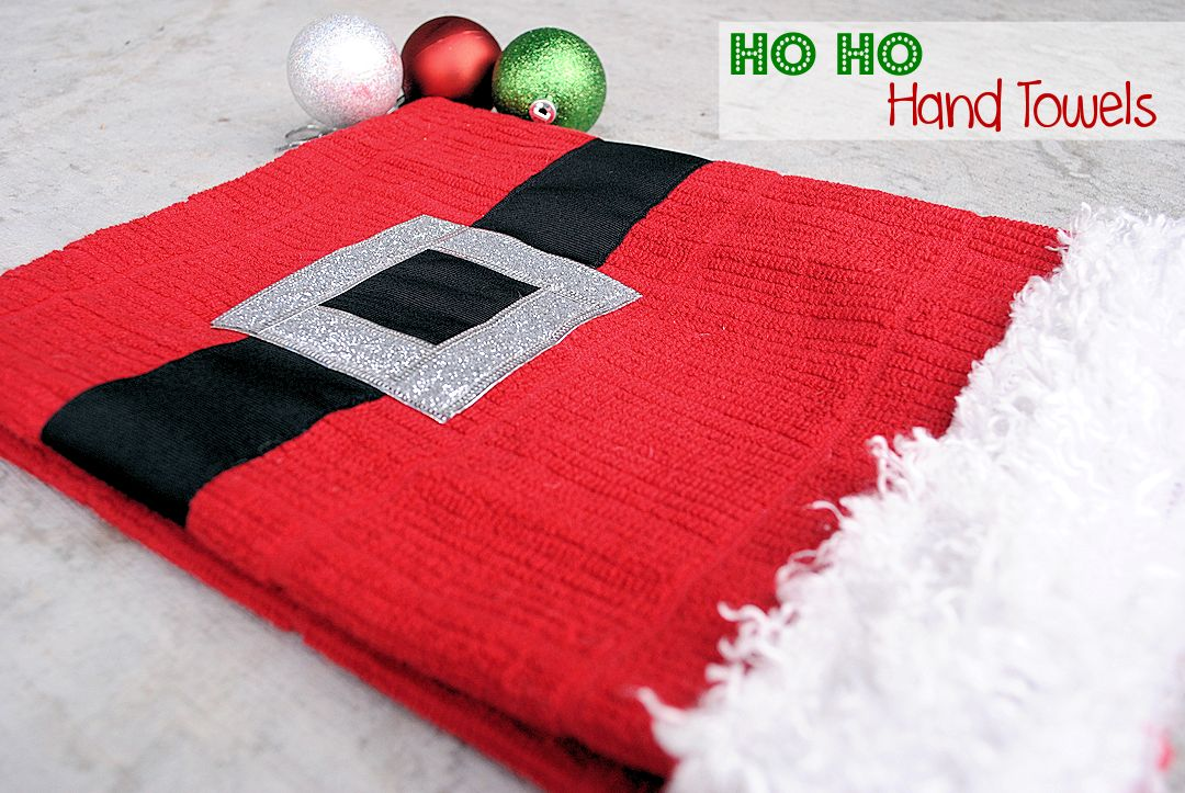 red towels you can whip up this adorable santa towel