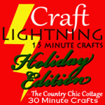 craft lightning holiday