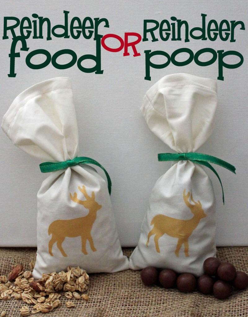 reindeer food or reindeer poop