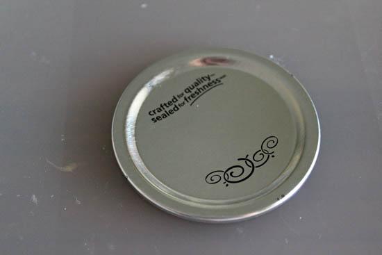 use mason jar lid