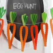 Easter Party Paper Decor