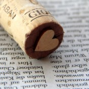 Make a cork stamp