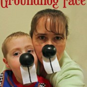 Make a simple Groundhog Face
