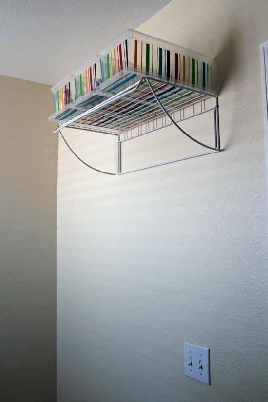 Set Up Laundry Hanging Area