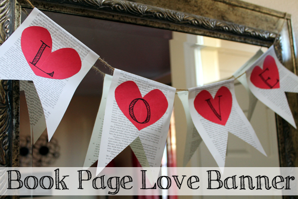book page love banner cover - creative carissa