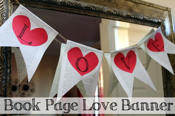 book page love banner cover - creative carissa