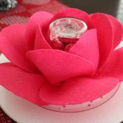 chocolate valentine rose