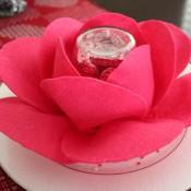chocolate valentine rose