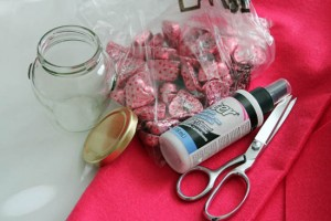 glass jar rose supplies