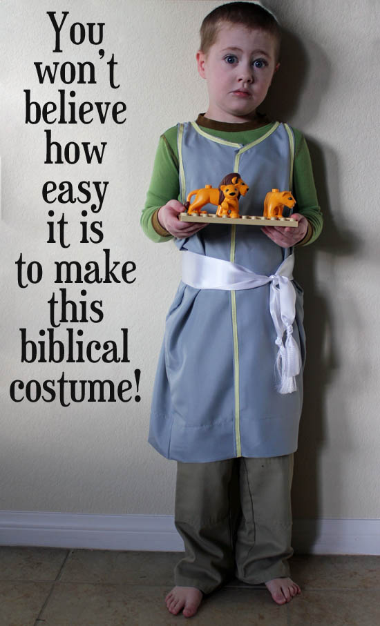 super easy biblical costume