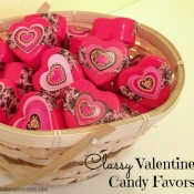 valentine favors on dollar store crafts