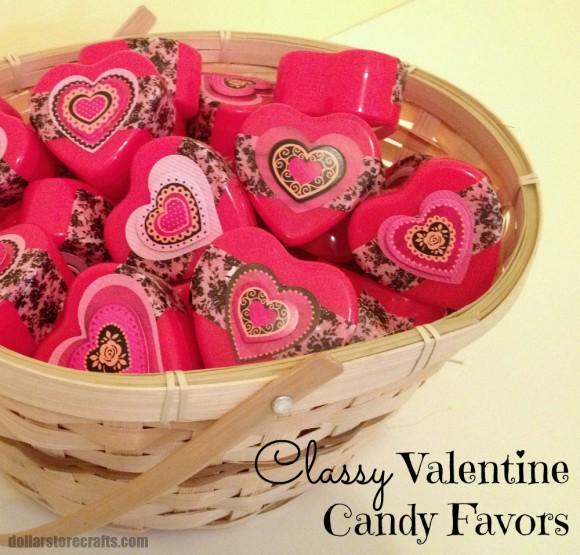 valentine favors on dollar store crafts