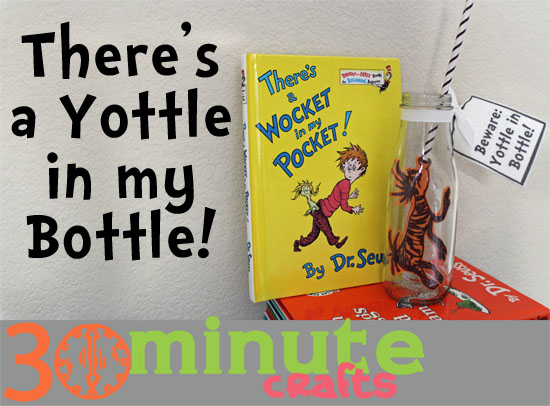 DrSeuss Yottle in my Bottle