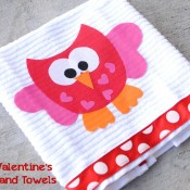 Valentineshandtowels - crazy little projects