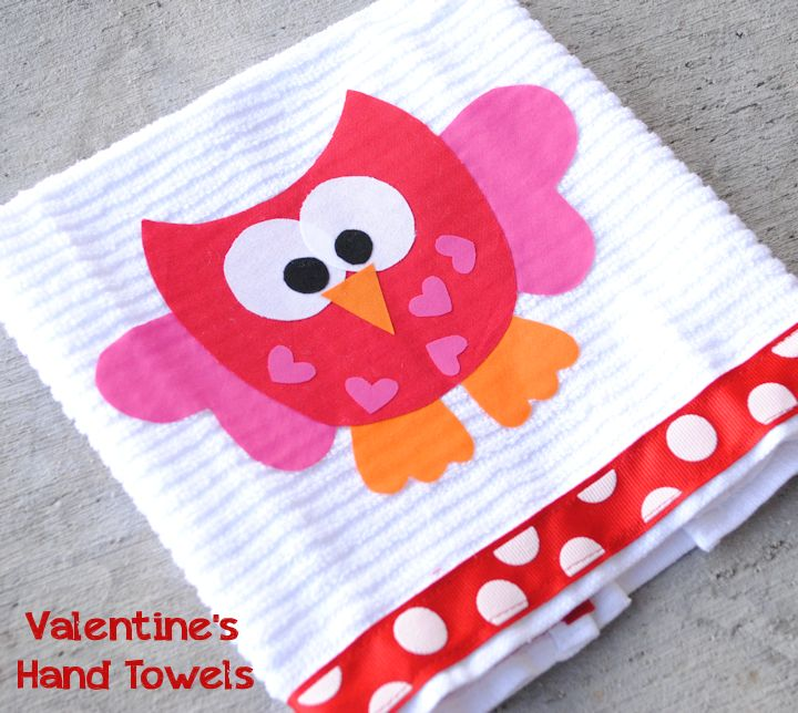 sewing valentine craft ideas no sew s day owl tea towels 30 minute crafts 5397