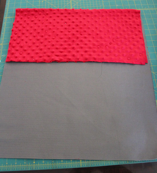 cut and fold fabric