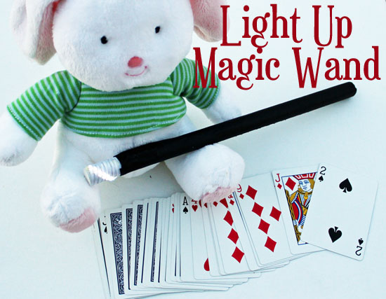 light up magic wand