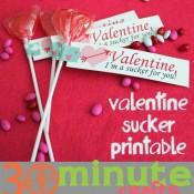 Valentine, I'm a sucker for you