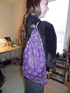 Bandana Hobo Bag - Crafty Leslie