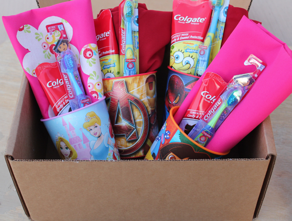 Colgate Care Package