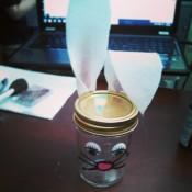 Mason Jar Bunny