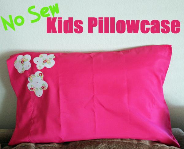 No Sew Pillowcase photo