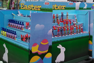 colgate easter display pic