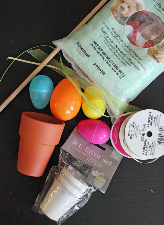 easter egg topiary supplies