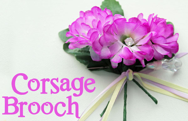 Corsage Brooch perfect for Mother's Day