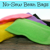 No Sew Bean Bags blog - seven alive