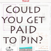 could you get paid to pin