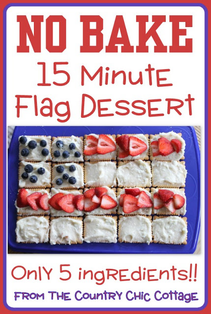 15 minute no bake dessert - the country chic cottage
