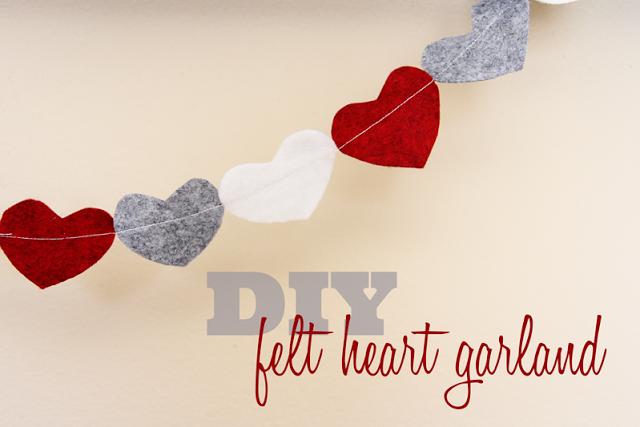 Heart Felt Garland - Lovely Little Snippets