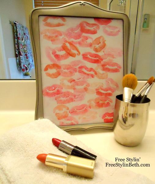 Lipstick Art - Free Stylin Beth