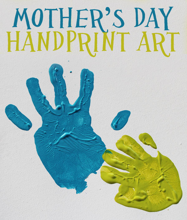 Mother's Day Handprint Art