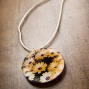 Seed Packet Necklace - Mod Podge Rocks