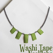 Washi Tape Necklace - 30 Minute Crafts