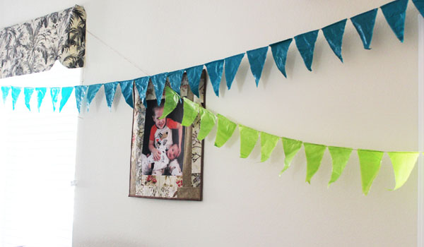birthday decorations with tissue paper