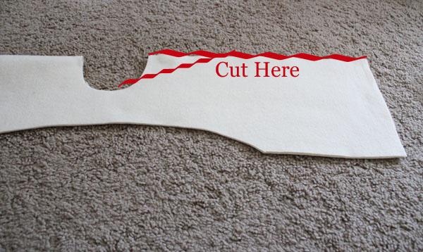cut the vest open