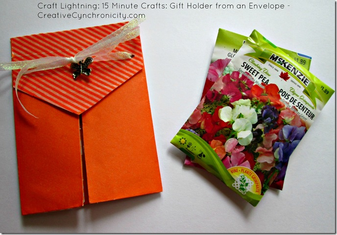 envelope gift holder - creative cynchronicity